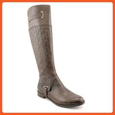 Etienne Aigner Womens Gilbert Almond Toe Leather Fashion Boots, Brown, Size 10 - Boots for women (*Amazon Partner-Link)