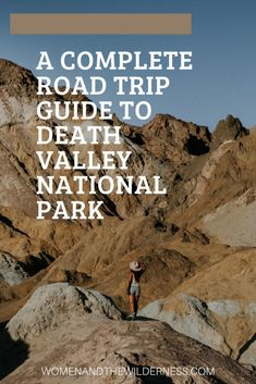 Planning a road trip from Los Angeles to Death Valley? This post includes all of the information you need to plan a successful (and scenic) road trip! Death Valley is one of the most unique places in the United States. From sand dunes to craters to the lowest point in North America you are sure to learn a thing or two while visiting. Click to start planning your road trip to Death Valley! #DeathValley #california Travel Advice, Travel Tips, Great American Road Trip, Death Valley National Park, Camping Spots, National Parks, Hiking, Walks, Trekking