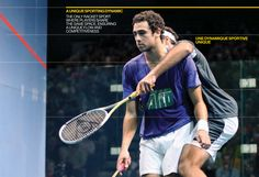 Squash has a unique sporting dynamic. It is the only racket sport where players share the same space, ensuring a unique flow and competitiveness.