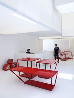 Yummy Red Modern Tables