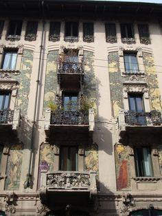 Casa Galimberti Via M. Malpighi, 3, Milano| Facciata