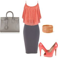 """""""Summer Work Outfit"""" by stefaniemarie4 on Polyvore"""