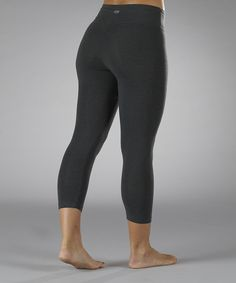 Another great find on #zulily! Marika Magic by Marika Heather Charcoal Tummy-Control Capri Leggings - Women by Marika Magic by Marika #zulilyfinds