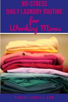 This simple weekly laundry schedule is the BEST! We used to be totally overwhelmed by laundry, but not anymore! This laundry system seriously changed my life. Working Mom Schedule, Working Mom Tips, Gentle Parenting, Parenting Advice, Laundry Schedule, Praying For Your Family, Parenting Done Right, Organized Mom, Thing 1