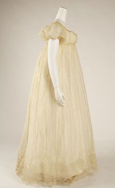 French Dress  Date  1804–14