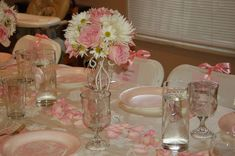 Pink Toile Baptism Party Ideas | Photo 2 of 2