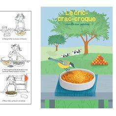 Côté sucré, on craque pour cette recette de crumble aux pommes, adaptée aux 3/7 ans.Et voilà le résultat ! Un vrai jeu d'enfant n'est-ce pas ?