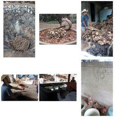 Visitar cualquier lugar es probar y ser parte de su cultura. En Oaxaca no es la excepción, al visitarlo, una de las mejores cosas es probar el mezcal! Y hacerlo lleva un proceso laborioso y maravilloso, que le lleva bastante tiempo. Acá te dejo unas imagenes de como lo hacen.