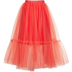 Topshop Giant Tutu Tulle Skirt (4.745 RUB) ❤ liked on Polyvore featuring skirts, red, topshop, ballet tutu, ballerina tutu, tulle ballerina skirt, tulle tutu skirt and red tulle skirt