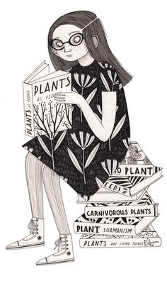 Children's - Laura Callaghan Illustration hang up during Venus fly trap story Book And Coffee, Bd Comics, Black And White Illustration, Art Graphique, Children's Book Illustration, Illustrations Posters, Childrens Books, Book Art, Character Design