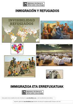 En esta guía encontrarás libros y películas disponibles en la Biblioteca de Navarra que tratan el tema de la inmigración y los refugiados.