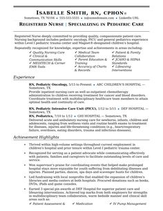 Nursing Skills Resume Your Resume Should Have Substance As Well As Stylereview This .