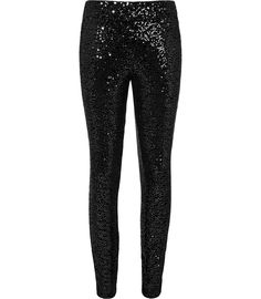 Pretty out there.. Kinda like though! Sparkly sequin leggings