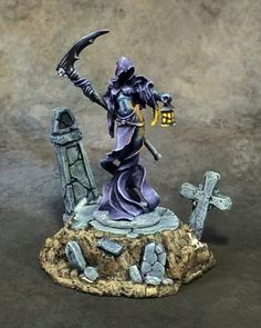 Female Wraith Reaper Miniatures Dark Heaven Legends Undead Ghost Scythe Lantern for sale online Reaper Miniatures, Fantasy Miniatures, Dragon Miniatures, Warhammer 40k Figures, Warhammer Fantasy, Minis, Mini Paintings, Love Painting, Decoration