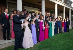 Great looking group at the Loomis Chaffee prom!