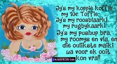 Hffhj Lekker Dag, Afrikaanse Quotes, Need A Hug, Good Morning Messages, Friendship Quotes, Push Up, Encouragement, Inspiration, Good Morning Wishes