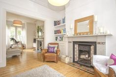 4 bedroom terraced house for sale in Bryanstone Road, Crouch End, - Rightmove. Home Living Room, Bay Window Living Room, Room Design, Home, Living Dining Room, Living Room Knock Through, Family Room Design, Living Dining Combo, End Terrace House