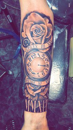 Perfect for Dad & Audie tattoo mann vorlagen Cool Half Sleeve Tattoos, Half Sleeve Tattoos Designs, Forearm Sleeve Tattoos, Sleeve Tattoos For Women, Arm Tattoos For Guys, Tattoo Designs Men, Tattoo Arm, Baby Tattoo For Dads, Tattoos For Daughters