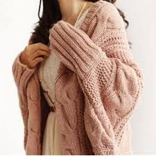 """HOT PRICES FROM ALI - Buy """"Autumn Winter Knitted Cardigans Coat Women 2015 Fashion Long Sleeve Batwing Poncho Sweater Beautiful Womans Crochet Cardigan"""" from category """"Women's Clothing & Accessories"""" for only USD. Cardigan Long, Poncho Sweater, Crochet Cardigan, Pink Sweater, Comfy Sweater, Crochet Sweaters, Chunky Knit Cardigan, Loose Sweater, Cardigans For Women"""