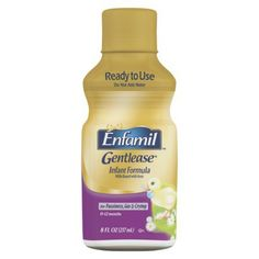 Enfamil Gentlease Ready to Use Bottle 8oz - 24 count