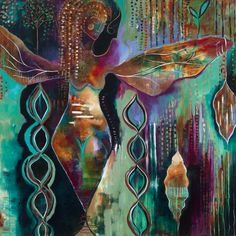 Artist interview w/ Flora Bowley and a HUGE GIVEAWAY of Bloom True Painting Course!