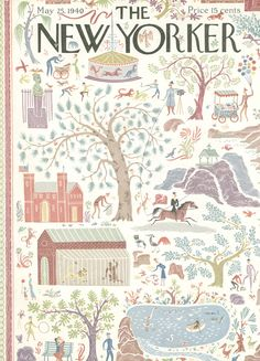The New Yorker - Saturday, May 25, 1940 - Issue # 797 - Vol. 16 - N° 15 - Cover by : H. d'O ?