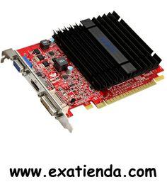 Ya disponible Vga ati MSI r6450 1gb PCIEX   (por sólo 46.99 € IVA incluído):   -Procesador gráfico/chipset:AMD Radeon HD 6450 -BusAGP/PCIex:PCI EXPRESS 2.0 -Memoria de Video:1GB -Frecuencia del Reloj:1000 MHz -Resolución Máxima.:2560x1600 -Resolución máxima DVI:2560x1600 -Conectores:HDMI/DVI-D/D-SUB -SLI/Crossfire:Crossfire -Directx:11 -Ventilador/Disipador: Disipador Garantía de 36 meses.  http://www.exabyteinformatica.com/tienda/3479-vga-ati-msi-r6450-1gb-pciex #v