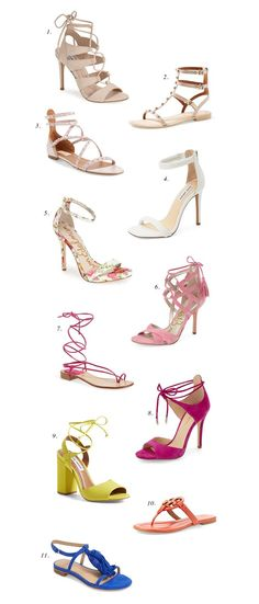 Pretty Sandals to Wear this Spring… | Pink Peonies by Rach Parcell | Bloglovin'