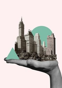 New collage art design shape 54 Ideas City Collage, Collage Artwork, Pop Art Collage, Surreal Collage, Surreal Art, Photomontage, Graphic Design Posters, Graphic Design Inspiration, Collage Design