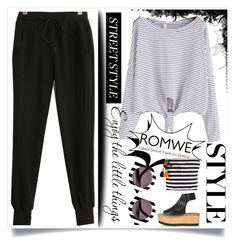 """""""Romwe contest"""" by andokamalyan ❤ liked on Polyvore featuring JADEtribe, House of Holland, Paloma Barceló and WALL"""