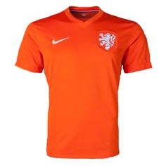 Nike Authentic Netherlands Home Jersey 14 15 (Orange) Soccer Equipment d70ac7659