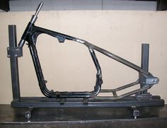Building a motorcycle frame jig (Part-1) | Michel Thomasius's Blog