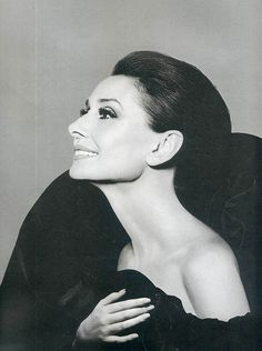 Audrey Hepburn, 62 years old by the time of this photo