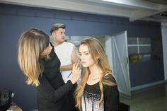 Backstage sesji zdjęciowej Gatta
