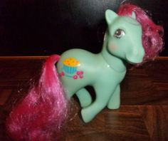 SOLD  Vintage My Little Ponies CRANBERRY MUFFINS1987 by JennsHiddenJems, $15.00