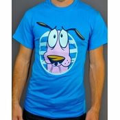 Courage the Cowardly Dog Face T Shirt