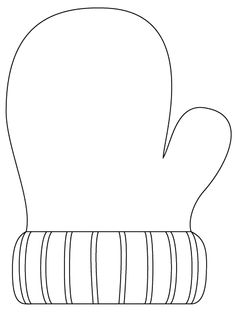large coloring pages for mittens | 1000+ images about Sablonok on Pinterest | Templates ...