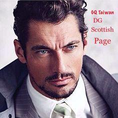 David was photographed by Chiun Kai Shih . For GQ Taiwan David Gandy Scottish Page on Facebook .