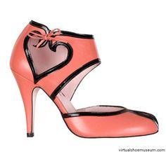 """Love"" ~ Minna Parikka - by Cris Figueired♥ Crazy Shoes, New Shoes, Me Too Shoes, Sock Shoes, Shoe Boots, Unique Shoes, Shoe Art, Pretty Shoes, Sexy High Heels"