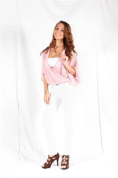 Ya Los Angeles Dusty Pink Sheer Top. Summer Sales Event