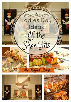 Ladies Day Ideas: If the Shoe Fits - The Ruffled Mango Need a theme and tons of ideas for your congregation's next Ladies Day? We've got you covered! Ladies Luncheon, Ladies Party, Womens Ministry Events, Christian Women's Ministry, Church Fellowship, Church Activities, Church Games, Youth Activities, Church Events