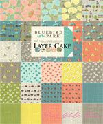 Kate & Birdie Paper Co. Bluebird Park LAYER CAKE [4LC-MODA-BluebirdParkLC] - $38.95 : Pink Chalk Fabrics is your online source for modern quilting cottons and sewing patterns., Cloth, Pattern + Tool for Modern Sewists