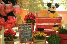 Picnic da Bella  Turma do Mickey