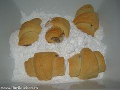 Cornulete fragede cu iaurt – Flori's Kitchen Dairy, Bread, Cheese, Brot, Baking, Breads, Buns