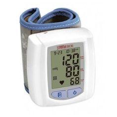 Santamedical Wrist Digital Blood Pressure Monitor Case Large Display New Open Bw