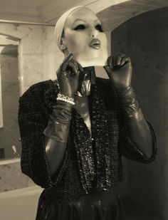Atsuko Kudo & Female Mask in VOGUE Italia