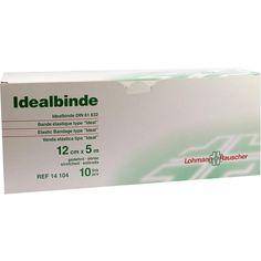 IDEALBINDE Lohmann 12 cmx5 m einzeln verpackt:   Packungsinhalt: 10 St Binden PZN: 03130370 Hersteller: Lohmann & Rauscher GmbH & Co.KG…