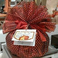 Fabric wrapped Panettone