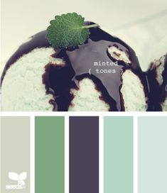 Minted Tones -- possible upstairs game room with green accent walls