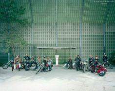"""""""Old Dude Free Biker"""", serie Freizeitfreunde, photo: Ursula Sprecher & Andi Cortellini"""